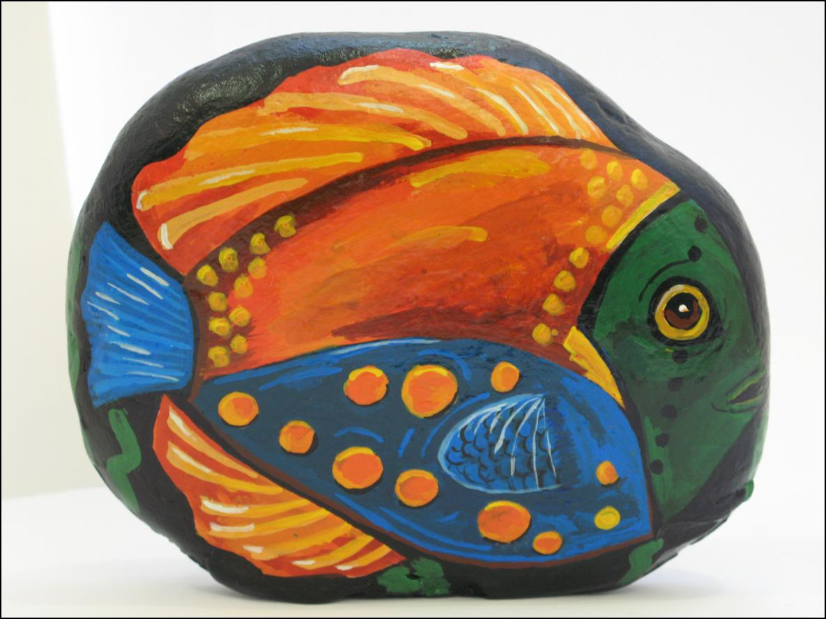 Colorful Fish  --  Pez de Colores