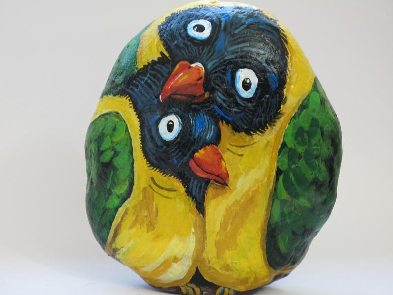Bird Couple  --  Pareja de Pajaros
