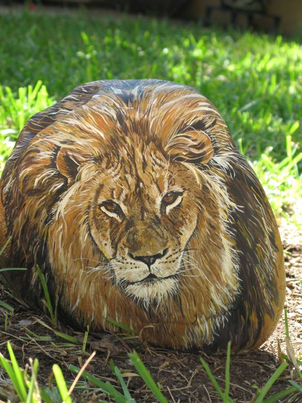3D Super Large Lion - 36 Pounds