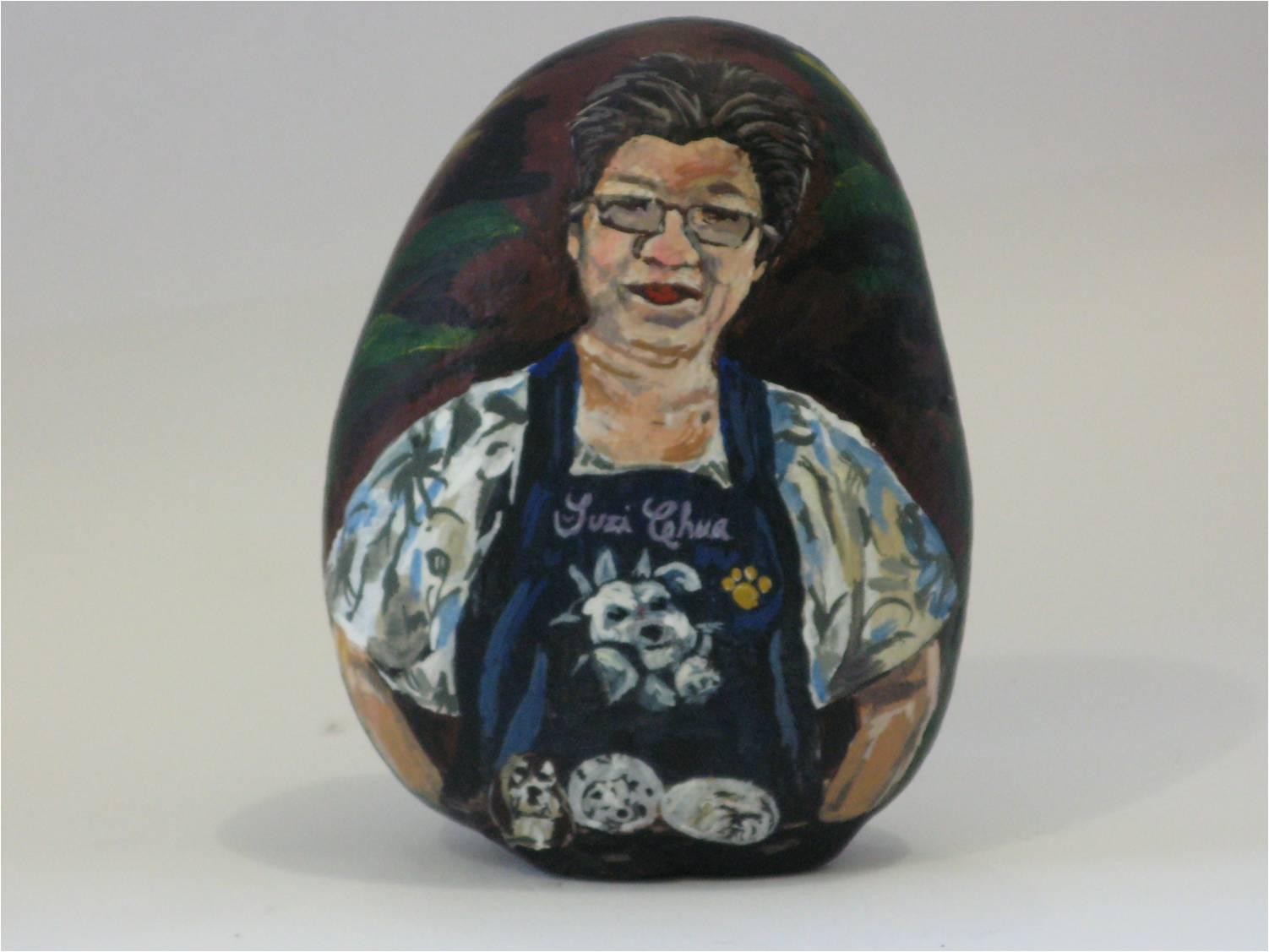 Portrait of Suzi Chua  ---   Retrato de Suzi Chua